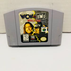 Wcw nwo world tour nintendo 64 n64