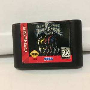 Power rangers the movie Sega Genesis