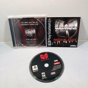 Wu tang shaolin styles PlayStation 1 ps1