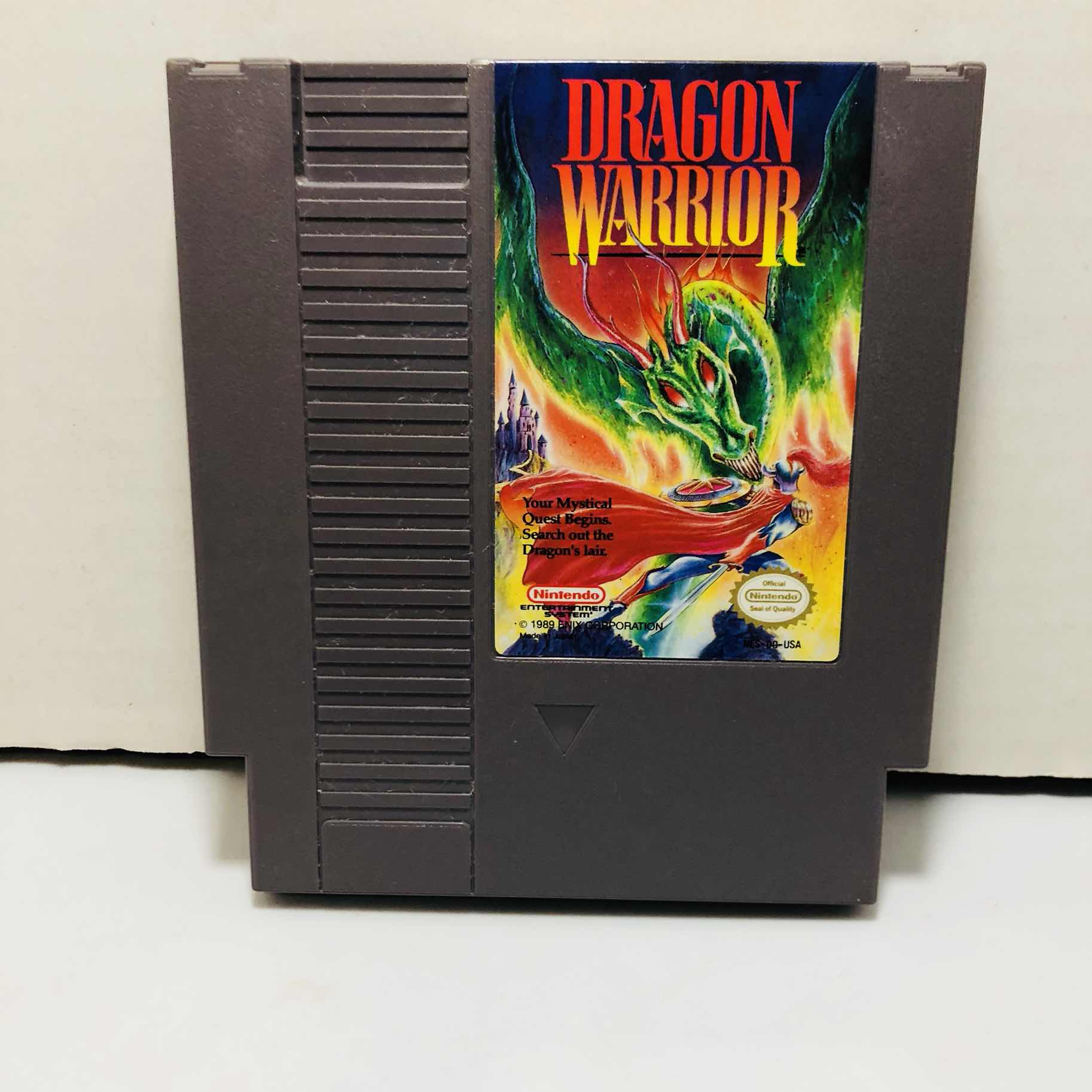 Dragon warrior Nintendo nes