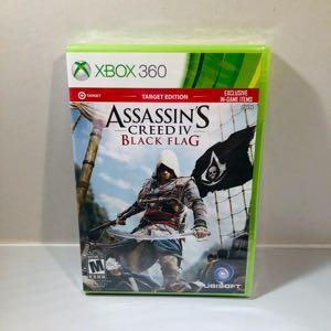 Assassins creed black flag new sealed!! Xbox 360