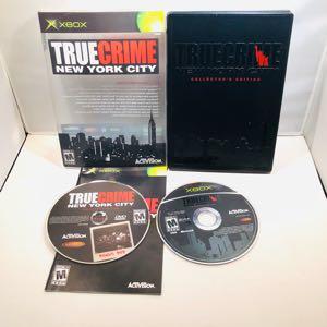 True crime New York collectors edition Og Xbox