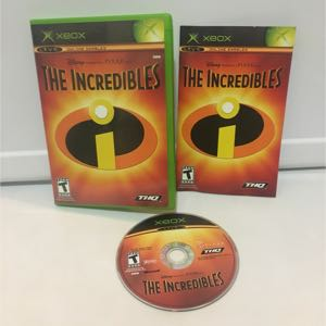 The incredibles OG Xbox