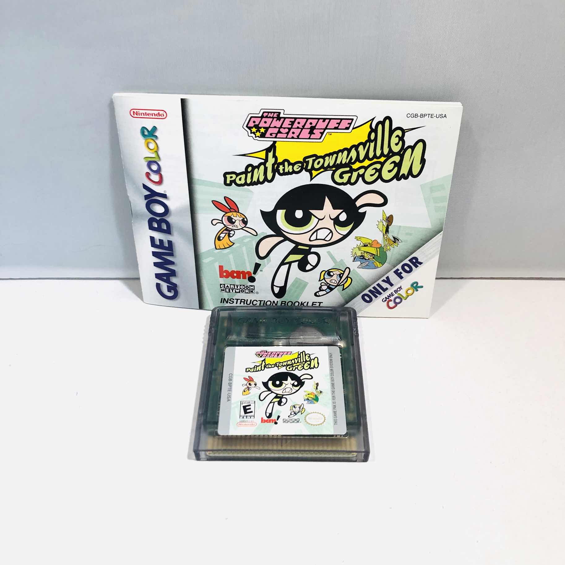 Power puff girls Nintendo gameboy color