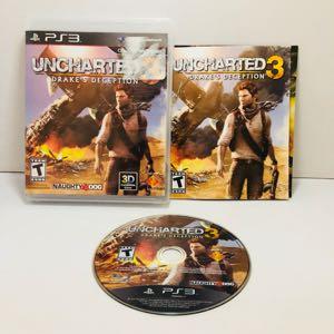 Uncharted 3 drakes PlayStation 3 ps3