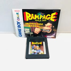 Rampage world tour Nintendo gameboy color