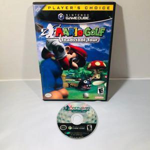 Mario golf toadstool Nintendo GameCube