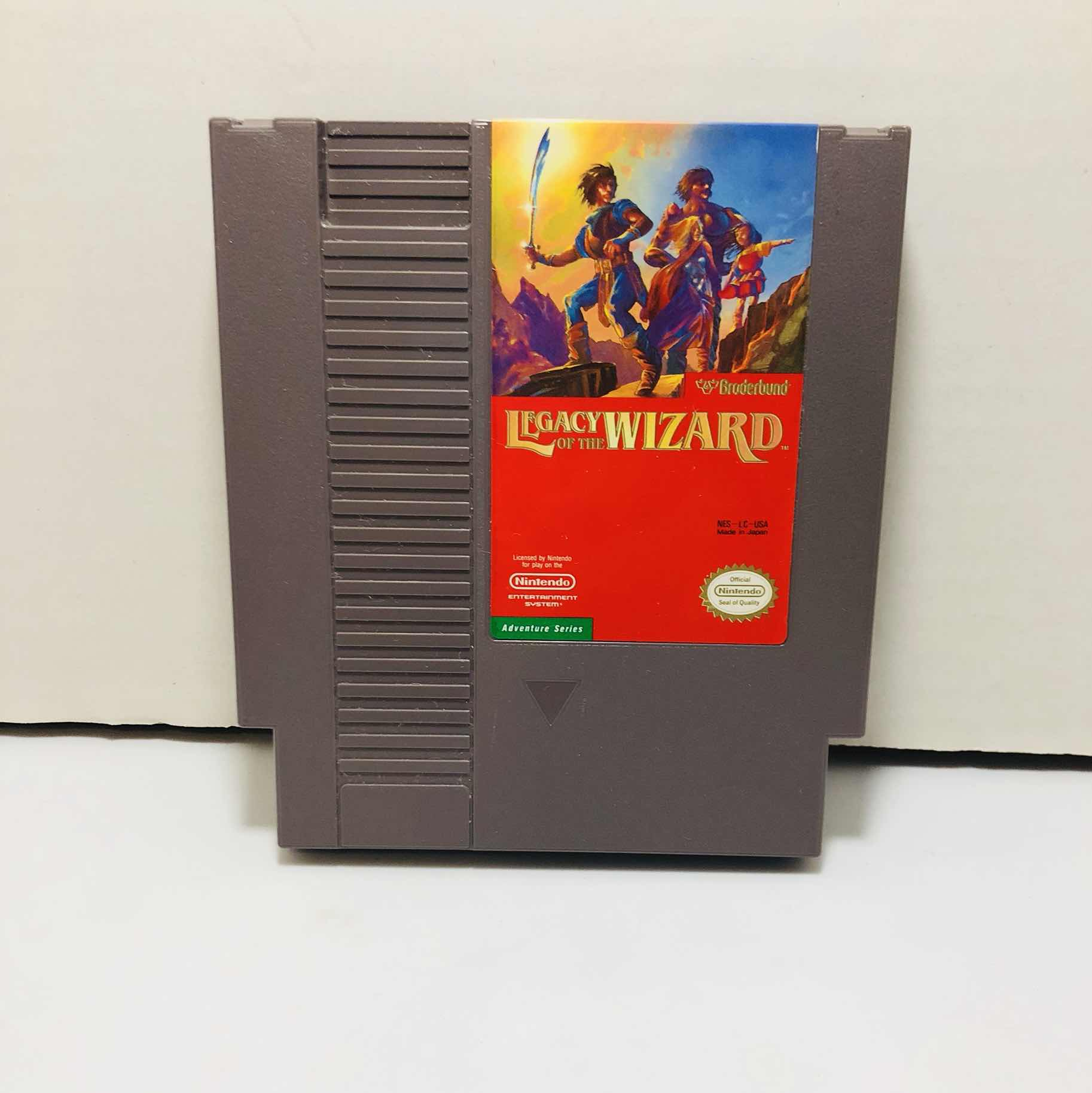 Legacy of the wizard Nintendo nes
