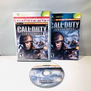Call of duty finest hour Og Xbox