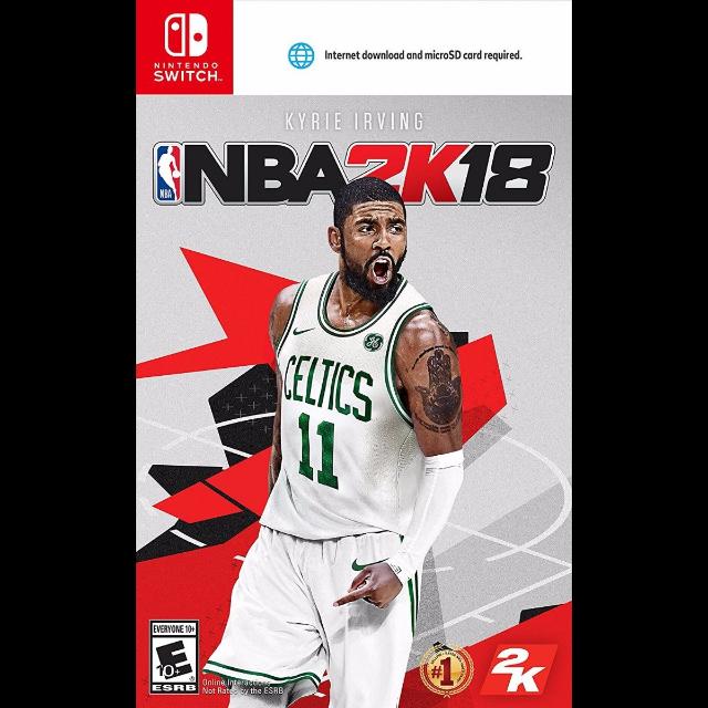 NBA 2K18 - Nintendo Switch [Digital Code] +300points - Nintendo