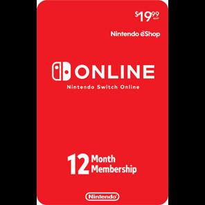 Nintendo Switch Online 12-Month Individual Membership