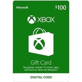 $100 Xbox Gift Card Balance