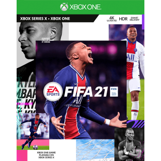 FIFA 21 Standard Edition Xbox One & Xbox Series X