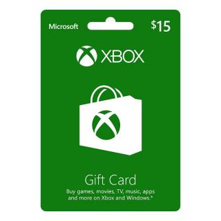 $15 Xbox Gift Card - Digital Code
