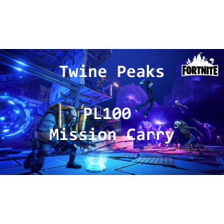 I will carry you in any PL100 Twine Peaks Mission