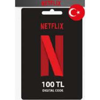 100 TL Netflix Gift Card Turkey Fast Delivery