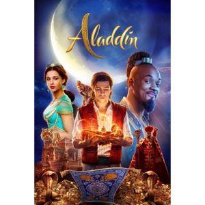 Aladdin 4K UHD Code Movies Anywhere NO DMI Included