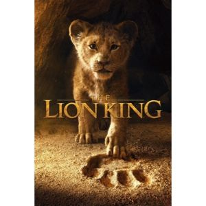 The Lion King 4K UHD Code Movies Anywhere NO DMI Included