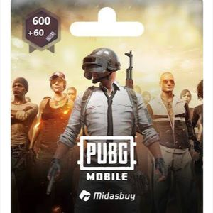 PUBG   PUBG Mobile 660 UC