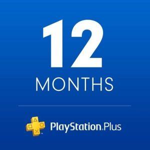 PlayStation Plus 12 MONTHS SUBSCRIPTION - US