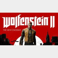 Wolfenstein 2  - Standard edition -  If you want other leave me comment and i will calculate price for other editions