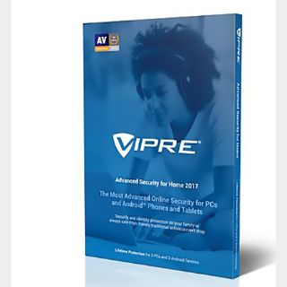 VIPRE Advanced Security 2018 (License Only) (1 PC) (1 Year) - the picture is illustrative