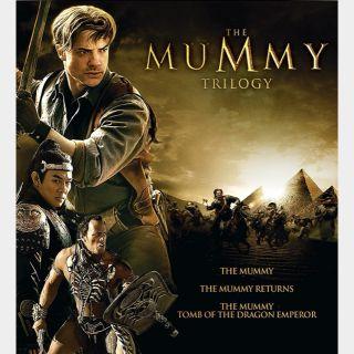 The Mummy Trilogy [HD] Brandon Fraser [MoviesAnywhere]