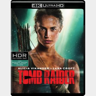 Tomb Raider [4K UHD] Vudu