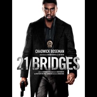 21 Bridges   4K UHD   iTunes