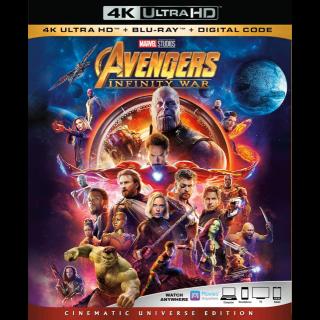 Avengers: Infinity War | 4K | MoviesAnywhere