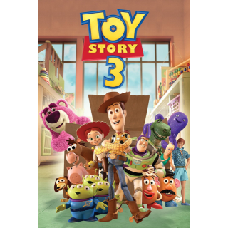 Toy Story 3 4K movies anywhere