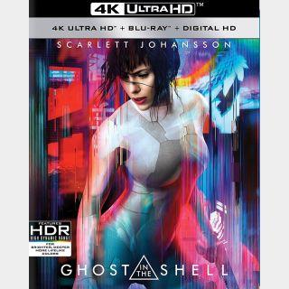 Ghost in the Shell [4K UHD] Scarlett Johansson [iTunes]