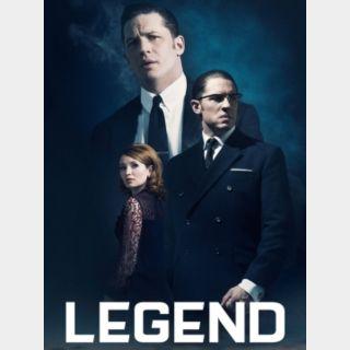 Legend [HDX] Vudu | MoviesAnywhere