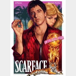 Scarface [4K UHD] iTunes ports MoviesAnywhere