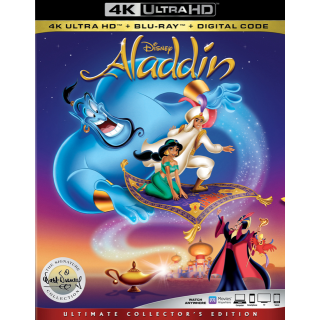 Aladdin | Disney | 1992 | 4K UHD | MoviesAnywhere