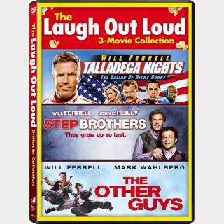 Triple Feature: Talladega Nights, Step Brothers and The Other Guys