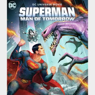Superman: Man of Tomorrow [HDX] Vudu MoviesAnywhere