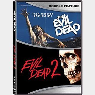 The Evil Dead 1-2 [4K UHD] Vudu