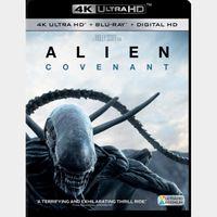 Alien: Covenant | 4K UHD | iTunes | ports MoviesAnywhere