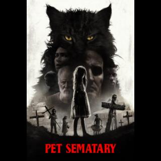 Pet Sematary | 4K UHD | iTunes