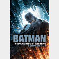 Batman: The Dark Knight Returns 1-2 (Deluxe Edition)   MoviesAnywhere