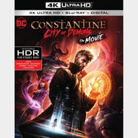 Constantine: City of Demons   4K UHD   MoviesAnywhere