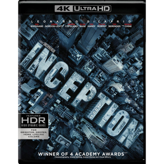 Inception | 4K UHD | MoviesAnywhere