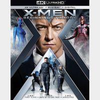 X-Men: Beginnings Trilogy | First Class | Days of Future Past | Apocalypse | 4K UHD | Vudu | Movies Anywhere