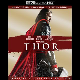 Thor | 4K UHD | MoviesAnywhere