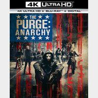 The Purge: Anarchy | 4K UHD | MoviesAnywhere