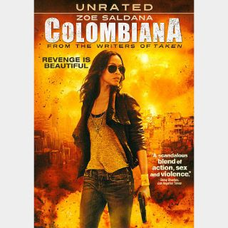 Colombiana Unrated [HDX] Vudu|MoviesAnywhere