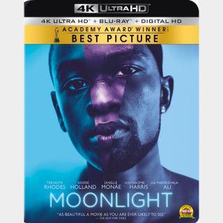 Moonlight [4K UHD] Vudu