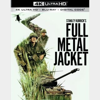 Full Metal Jacket [4K UHD] MoviesAnywhere