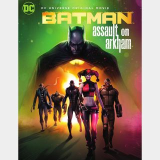 Batman: Assault on Arkham [HDX] Vudu|MoviesAnywhere